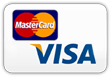 Bezahlung per VISA- bzw. Master-Card