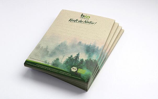 altMit Graspapier umweltfreundlich drucken!
