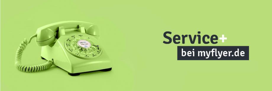 Beste Service-Leistungen für Ihren Druck? Aber logo!