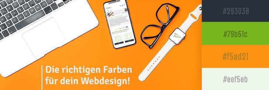 Die richtigen Farben für Dein Webdesign!