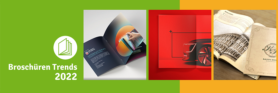 7 Broschüren Designtrends für das Jahr 2022