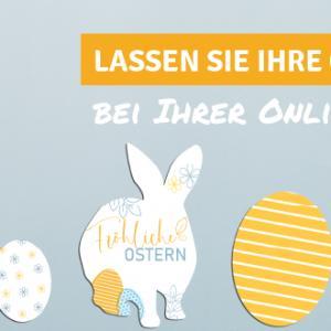 Schon heute an Oster-Werbeaktionen denken – druckfrisch aus unserer Online-Druckerei