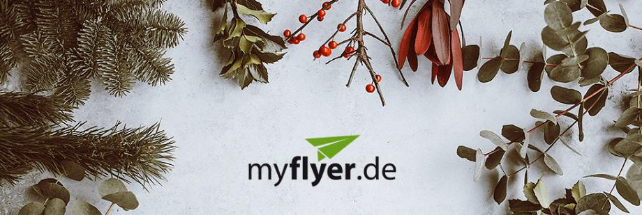 Die kalte Jahreszeit: Druckprodukte im Weihnachtsshop