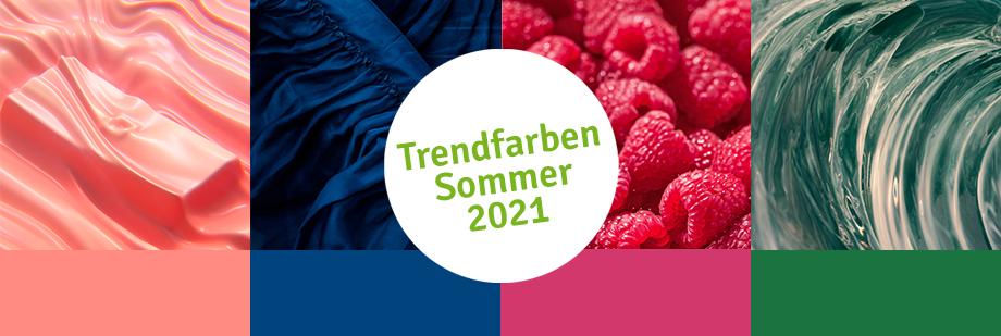 Farbtrends für den Sommer 2021
