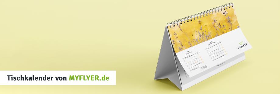 Individuelle Tischkalender für Ihr Unternehmen