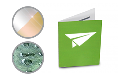 IMG: Grußkarte mit partiellem Lack oder Heißfolie Grußkarte mit partiellem Lack oder Heißfolie