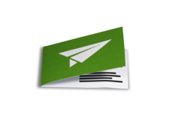 Klapp- Visitenkarten Klapp- Visitenkarten