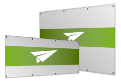 PVC-Wahlbanner