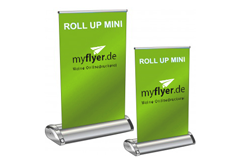 www.myflyer.de RollUp Exklusiv Mini