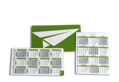 IMG: Scheckkarten-Kalender Scheckkarten-Kalender