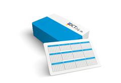 Scheckkarten-Kalender