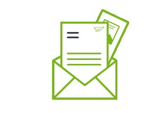 Mailing mit Anschreiben + Beilage