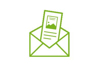 Mailing mit Beilage