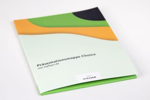 Präsentationsmappe Choice