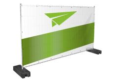 Bauzaun Banner