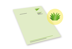 Briefpapier Graspapier