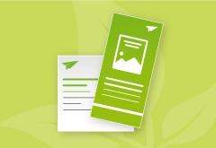 Flyer Recyclingpapier