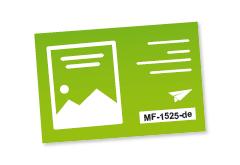 Visitenkarten mit individuellem Code