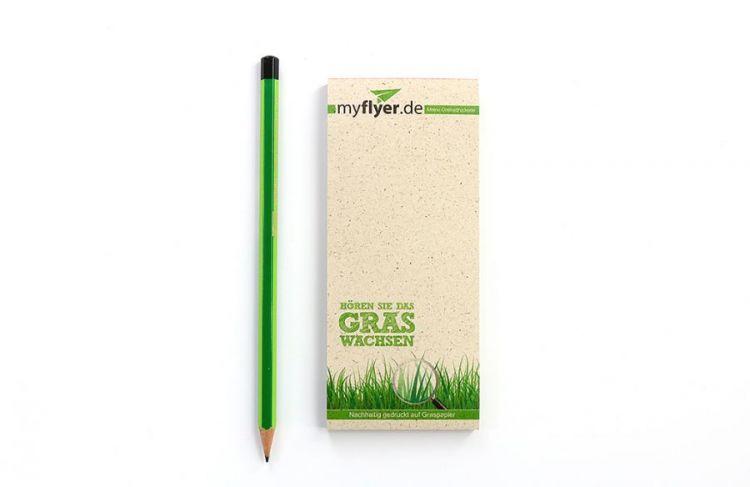 Kellnerblöcke aus Graspapier
