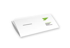 IMG: Briefpapier gefaltet Briefpapier gefaltet