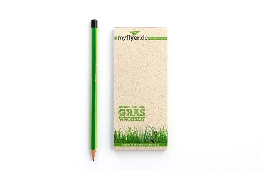 IMG: Kellnerblöcke aus Graspapier Kellnerblöcke aus Graspapier