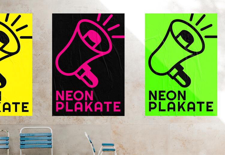 IMG: Neon-Plakate  Neon-Plakate