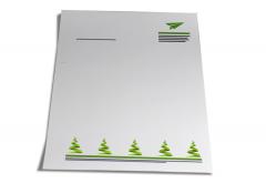 Weihnachtspost Briefpapier