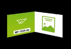 www.myflyer.de Klappvisitenkarten mit Code