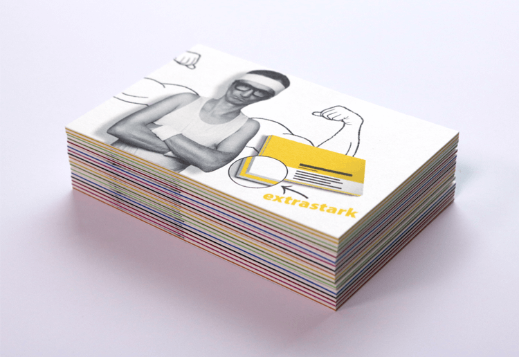 Multiloft Farbkern Visitenkarten Deutlich Dicker Als Normal