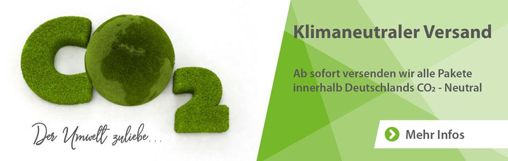 CO2 neutraler Versand CO2 neutraler Versand