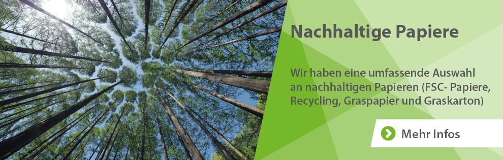 nachhaltige Papiere nachhaltige Papiere
