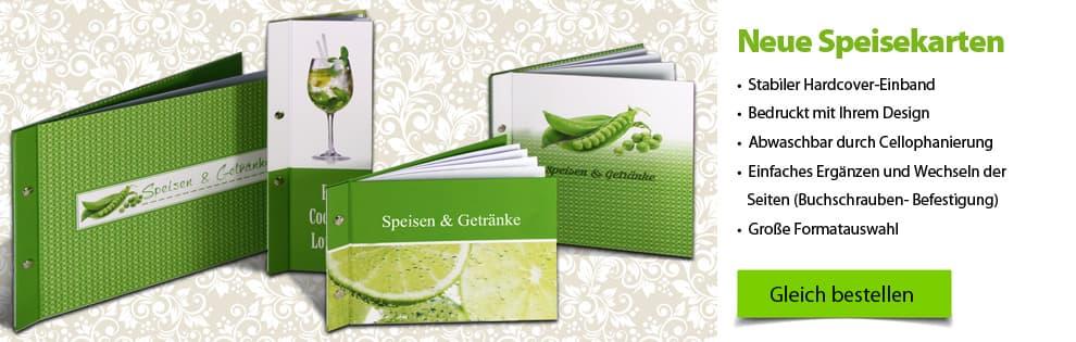 Speisekarten Hardcover Speisekarten mit Hardcovereinband und Buchschrauben