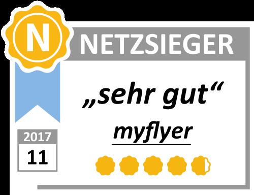 Testergebnis-Myflyer-Netzsieger
